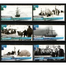 2015 ROSS DEPENDENCY Imperial Trans-Antarctic Expedition set MNH
