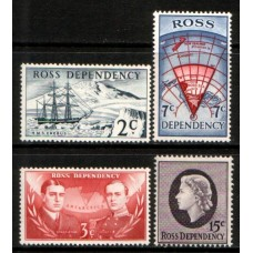 1967 ROSS DEPENDENCY First set in Decimal currency MNH