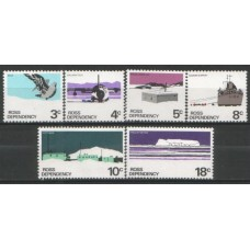 1972 ROSS DEPENDENCY Scenes set MNH