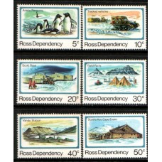 1982 ROSS DEPENDENCY Scenic Camps sites MNH