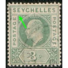 1903 SEYCHELLES KE 3c
