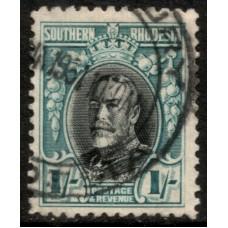 1931 SOUTHERN RHODESIA KGV 1sh VFU