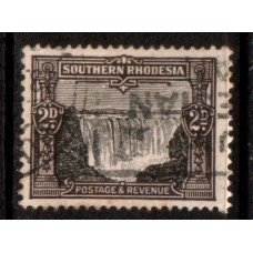 1931 SOUTHERN RHODESIA 2d Falls VFU