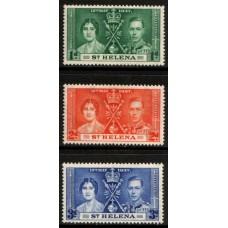 1937 St. HELENA KGVI Coronation LMM