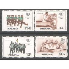 1986 TANZANIA International Youth Year MNH
