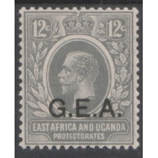 1921 TANGANYIKA KGV 12c G.E.A. ovpt MNH