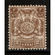 1904 ZANZIBAR 2 A Monogram value LMM